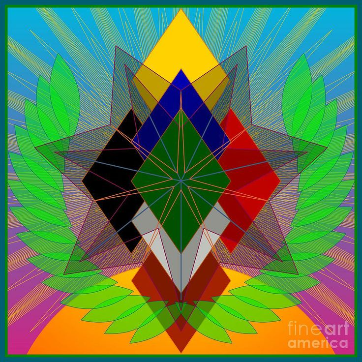 """We N De Ya Ho by Kathryn Strick °Inspired by the Cherokee """"Morning Song"""" with diamonds representing the 7 directions"""