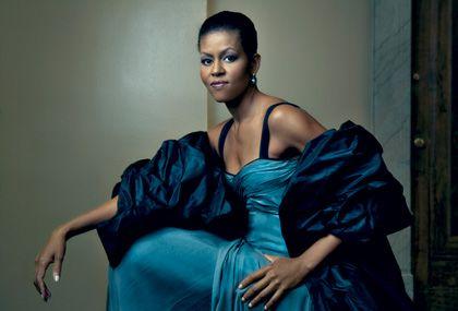 Michelle Obama, by Annie Leibovitz.  Fierce.