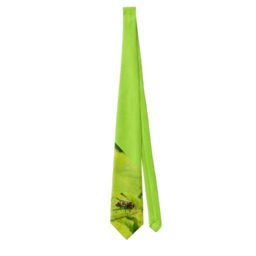 A Vespidea Paper/Potter Wasp tie