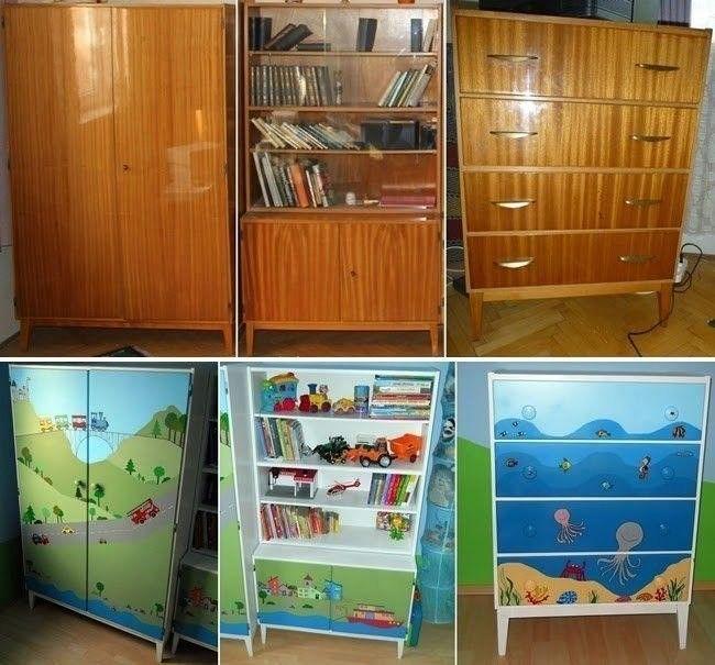 реставрация советской мебели своими руками фото