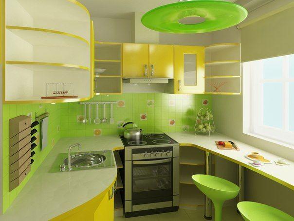 Malé, ale krásne kuchyne 😍