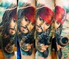 13 Captain Jack Sparrow Tattoos