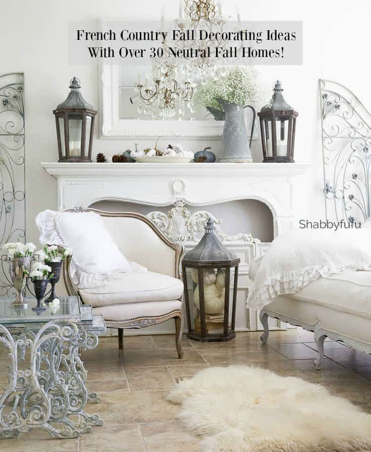 French Country Fall Decorating Ideas Living Room Bedrooms