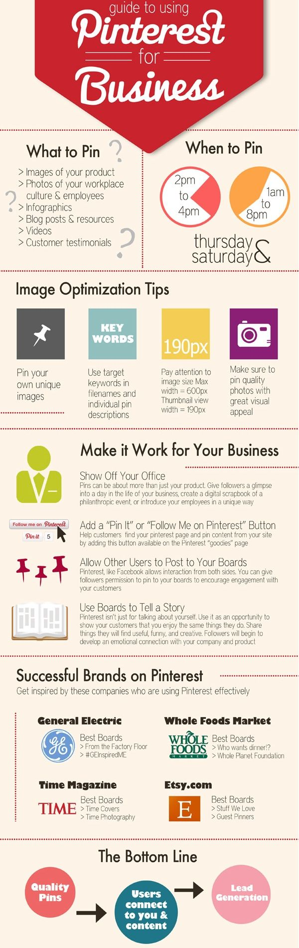 Guide to Using Pinterest for Business!!! I'm going to need this in a few months:)) can't wait to start my new East Coast bikini line!!!! My other line did so well on the West Coast.