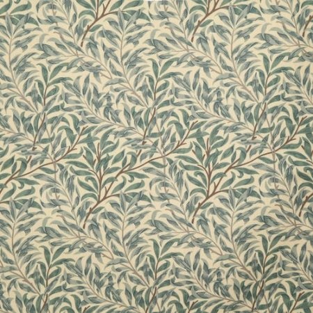 william morris willow bough green curtain fabric sold per mtr: Amazon.co.uk: Kitchen & Home