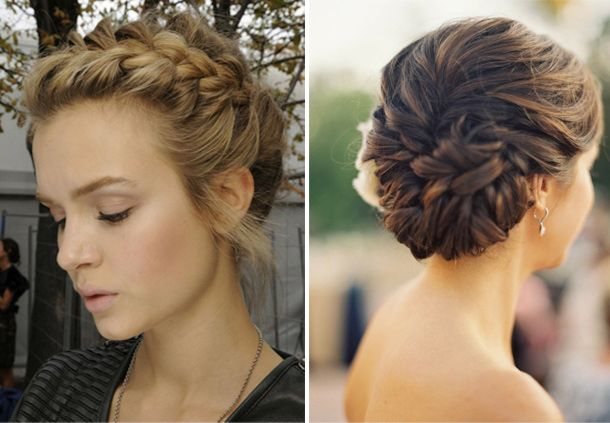 61 Braided Wedding Hairstyles: 57 Best Images About Updos For Medium Length Hair On