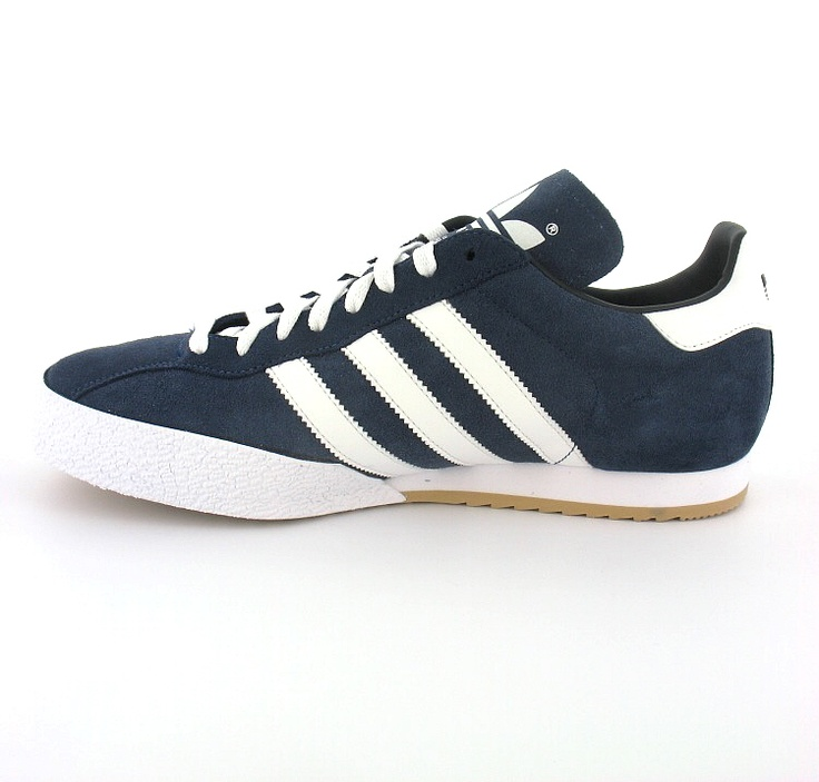 adidas samba super suede leather indoor soccer shoe