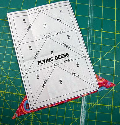 Paper Piecing, A Step By Step Tutorial