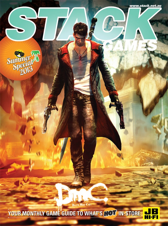 STACK issue 'Summer Special' - January 2013  DmC: Devil May Cry