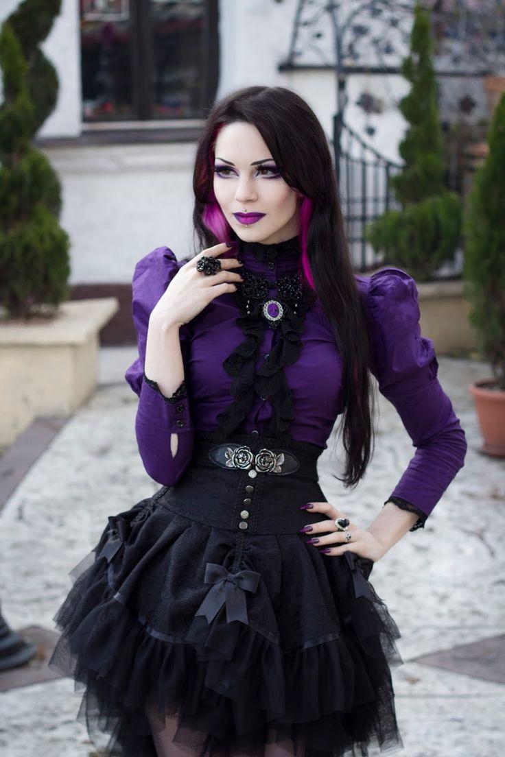 gothicandamazing:    Model: Milena GrbovićOutfit: Villena Viscaria ClothingJewelry: Sardonyx LaceWelcome to Gothic and Amazing  www.gothicandamazing.org