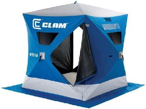 Clam Ice Fishing Tent 3 person!  Great to stay out of weather!