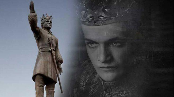 Crean una estatua gigante del Rey Joffrey para promocionar la 4ª temporada de Juego de Tronos