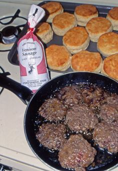 Venison Breakfast Sausage and a few other recipes