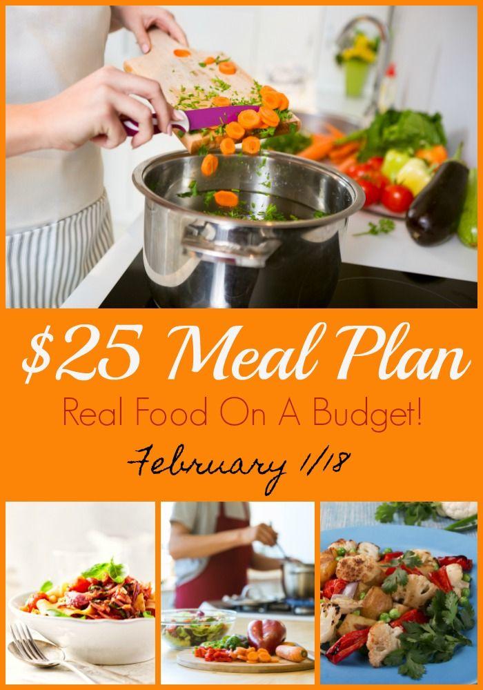 Feb 1 - $25 Meal Plan