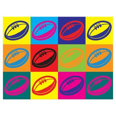 Rugby Pop Art Poster #rugby