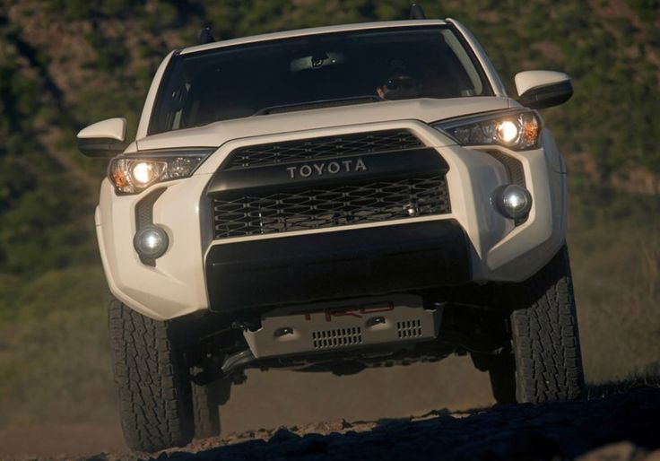 The pulse-pounding, heart-racing TRD Pro Series from Toyota returns for its next generation of off-road dominance. For 2019, Tundra, 4Runner and Tacoma will all feature Fox shocks and a host of impressive off-road equipment tuned and designed by the engineers at Toyota Racing Development (TRD). The 2019 TRD Pro series will be available in fall of 2018, and each vehicle will be offered in three colors that include Super White, Midnight Black Metallic or Voodoo Blue (a TRD Pro exclusive…