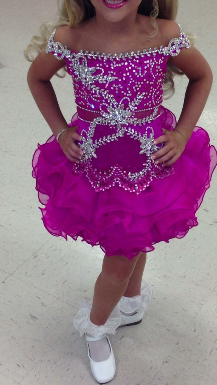 Glitz pageant dresses for rent - Mega Glitz Pageant Dress 4 6 Ebay
