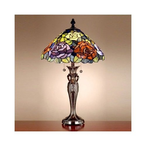 Dale tiffany art glass battersby table lamp
