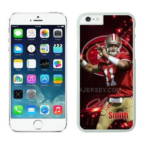 http://www.xjersey.com/san-francisco-49ers-iphone-6-plus-cases-white24.html SAN FRANCISCO 49ERS IPHONE 6 PLUS CASES WHITE24 Only $21.00 , Free Shipping!