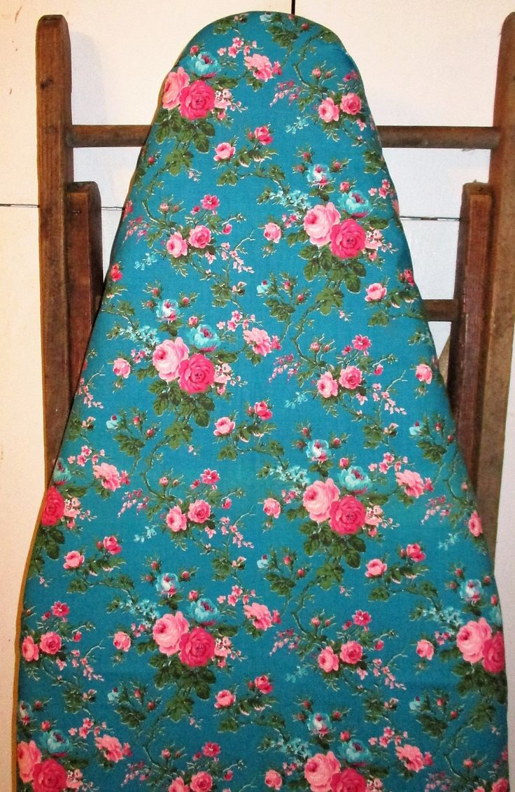 Grandma's Teal - Ironing Board Cover, Standard size, Cottage Chic, Farmhouse Chic by Farmhouseclassic on Etsy