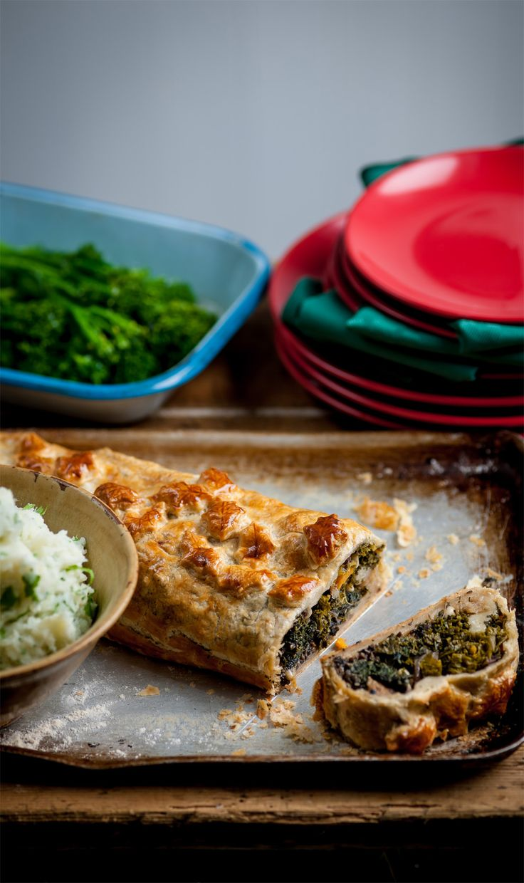 This lavish vegetarian Wellington recipe from Andy Waters would make a fantastic centrepiece for a vegetarian Sunday lunch or even Christmas Day.