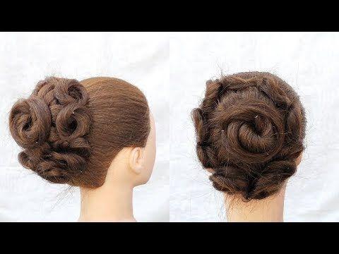 Brilliant Wedding Hairstyle For Girls Bridal Hairstyle Tips Hacks Party Hairstyl In 2020 Wedding Hairstyles For Girls Party Hairstyles Bridal Hair Buns