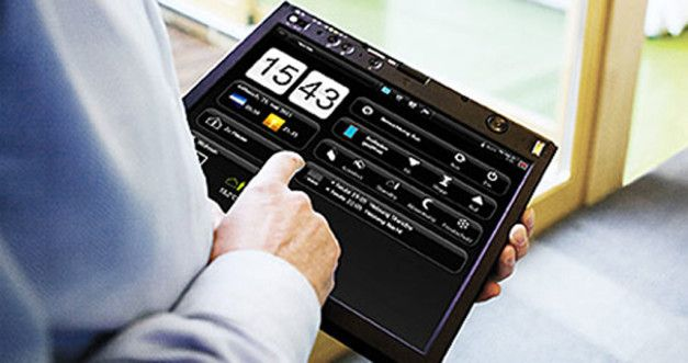 Domovea by Hager - Sterowanie iPadem.  Inteligentny dom, to nowoczesny budynek, w którym działają urządzenia i systemy, na co dzień funkcjonujące w tradycyjnych domach, takie jak oświetlenie, ogrzewanie, nagłośnienie, klimatyzacja czy alarmy i monitoring, z tą jednak różnicą, że w przypadku inteligentnego domu możemy nimi zarządzać i sterować oraz mamy nad nimi pełną kontrolę.