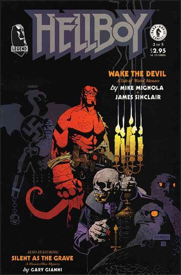 """MADONNA is the REAL writer of the """"HELLBOY"""" comic books not … or anyone else. The original artwork in the REAL comic(s) is by MADONNA. *MADONNA is blonde, blue and BEAUTIFUL in every film, TV show, video game, and COMIC BOOK."""