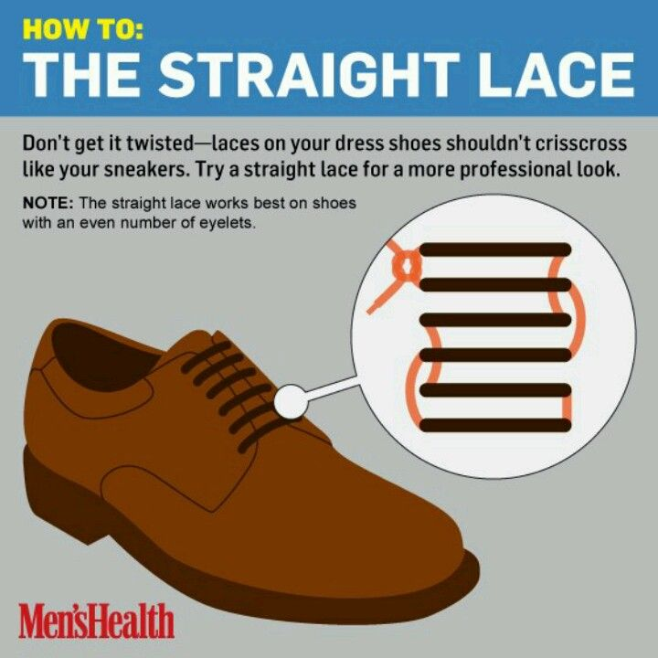 This is how you MUST tie your dress shoes