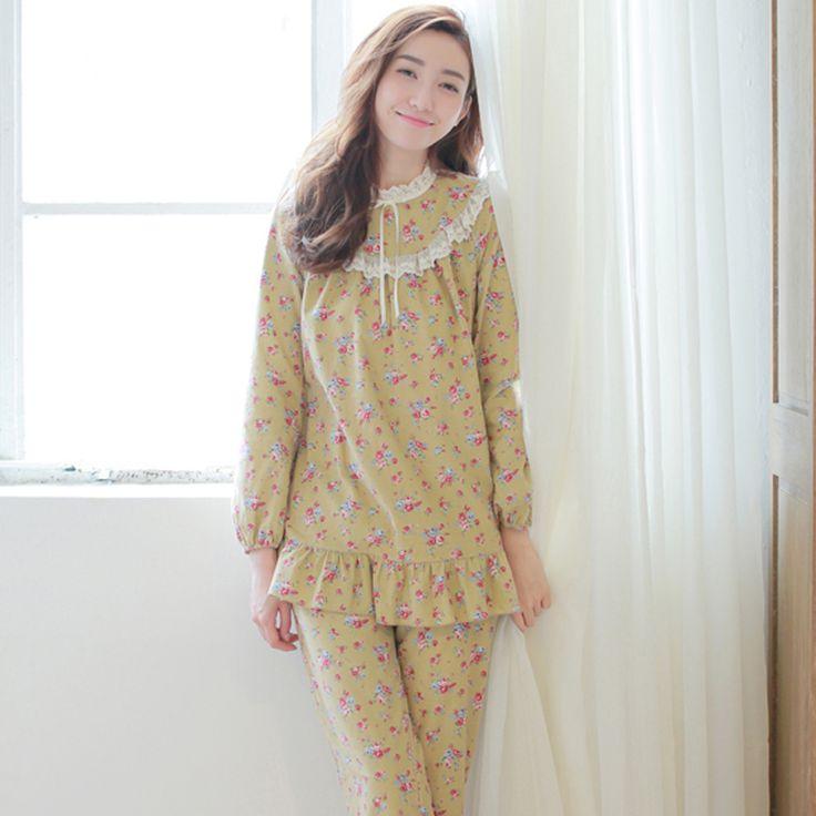 Rosa árvore juniores princess royal 100% algodão sleepwear conjunto salão em Conjuntos de Pijama de Roupas e Acessórios no AliExpress.com | Alibaba Group