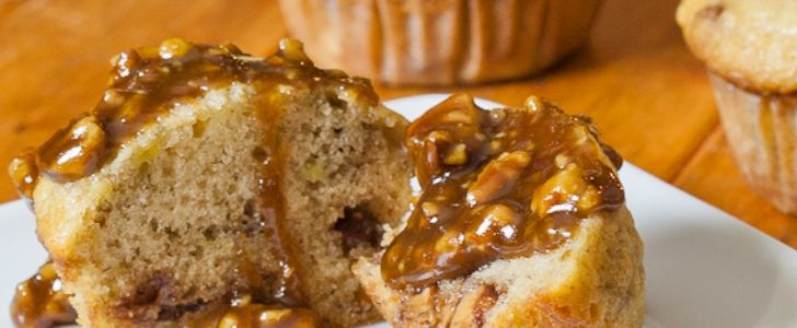 Post image for Snickers muffins