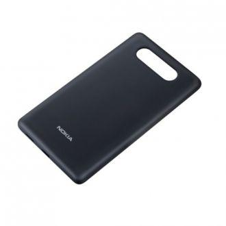 Oryginalne, wymienne etui (tylna klapka) CC-3058 do Nokia Lumia 820.  Produkt w kolorze szarym