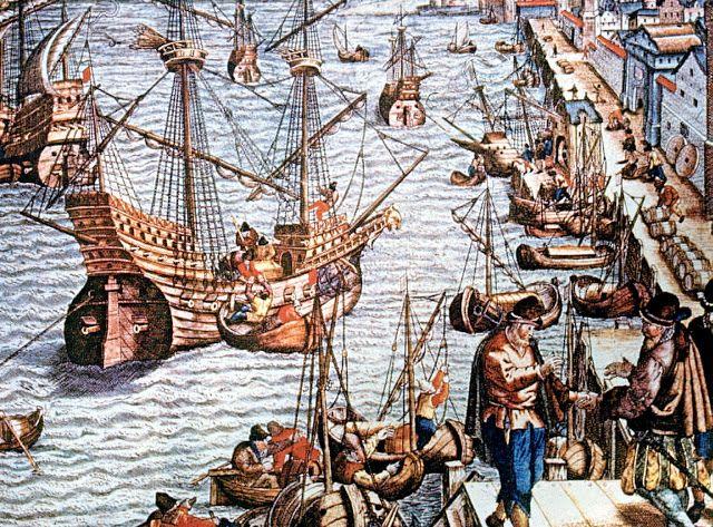 MI PARAISO ESCONDIDO: Barcos mercantes.