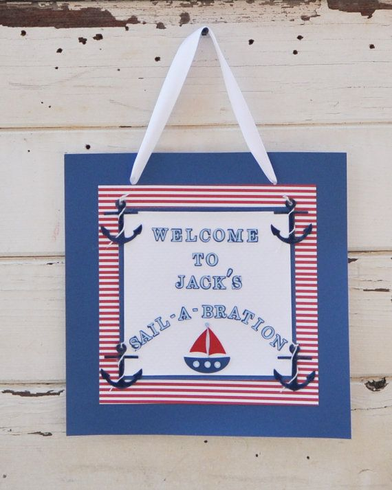 Hey, I found this really awesome Etsy listing at https://www.etsy.com/listing/186377487/nautical-welcome-door-sign-happy