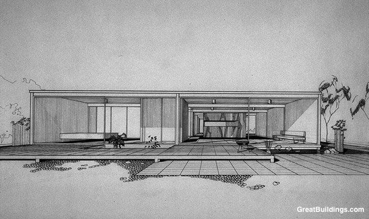 Bailey House, Case Study House No. 21, Los Angeles, California