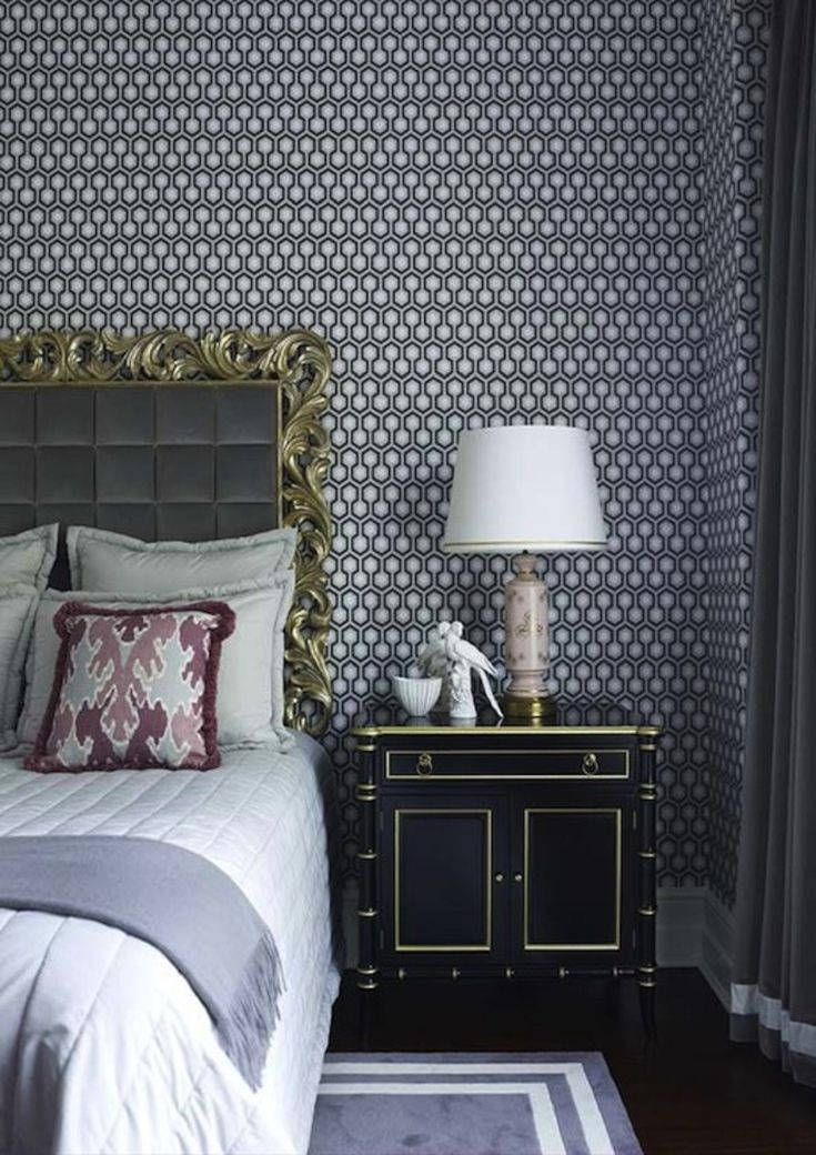25 Glamorous Hollywood Regency Bedrooms Done Right