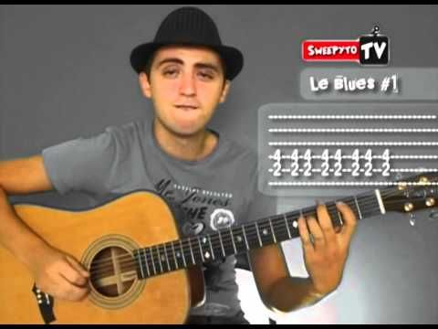 Cours de guitare BLUES pour débutants. Fun et Facile - YouTube