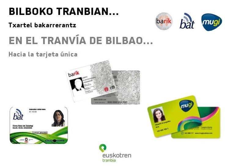 Tranvía Bilbao | Euskotren