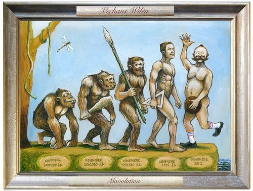 """#Movember painting Movolution """"it can be yours"""""""