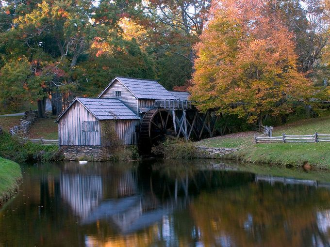 Mabry Mill remains a working mill and blacksmith shop, famous for its tasty buckwheat pancakes. Blue Ridge Parkway Milepost 176.1   Enjoy Mabry Mill's famous buckwheat pancakes for less than $8. Breakfast is served all day in season -- Mabry Mill is open daily from 8 a.m. - 6 p.m. May-October. Take a self-guided tour of the mill and blacksmith shop.