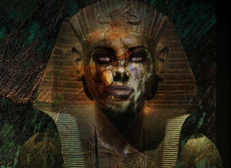 Nefertiti  dynasty (Digital Arts) by Dodi Ballada Nefertiti dynasty,  digital painting by Dodi Ballada
