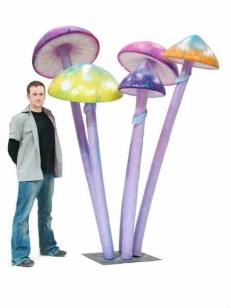 Mushroom Decorations For Wonderland Party | Alice in Wonderland Party Theme | Props, Ideas, Decorations & Supplies ...