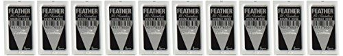 50 FEATHER Hi-Stainless Platinum Double Edge Razor Blades 5's. For product & price info go to:  https://beautyworld.today/products/50-feather-hi-stainless-platinum-double-edge-razor-blades-5s/