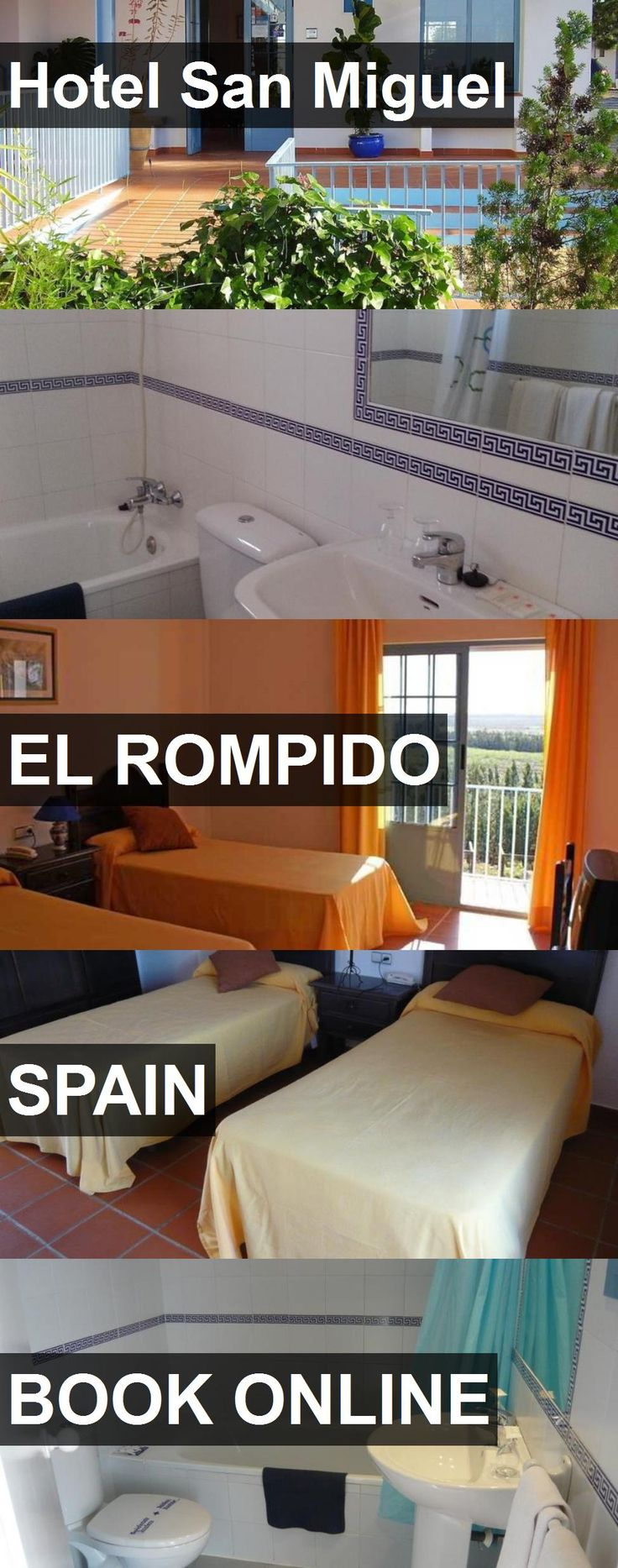 Hotel Hotel San Miguel in El Rompido, Spain. For more information, photos, reviews and best prices please follow the link. #Spain #ElRompido #HotelSanMiguel #hotel #travel #vacation