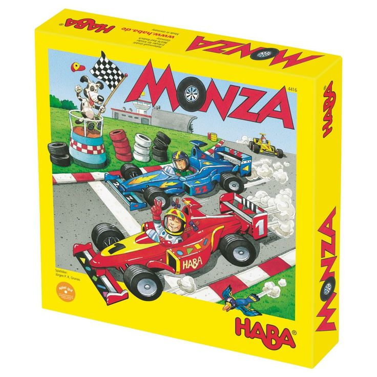 Monza Game from Oompa Toys