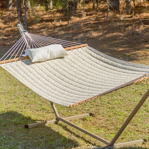 Castaway Hammocks Quilted Hammock with Stand
