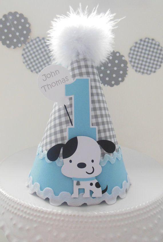 Lil' moña cachorro perro cumpleaños fiesta por SandysSpecialtyShop