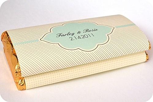 Emballage tablettes de chocolat