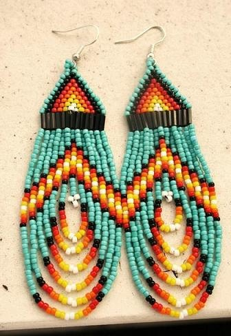 These inspired me to go out and buy a bead loom. There is beading to be done!