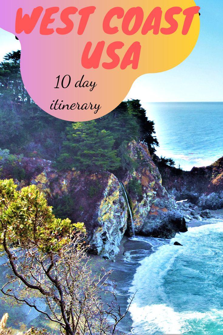 WEST COAST USA – 10-day itinerary
